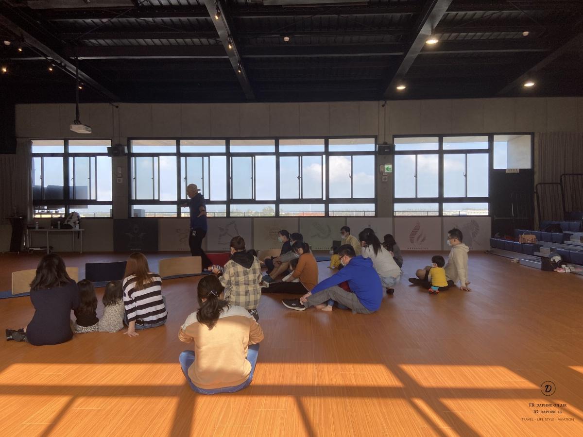 夏哲森辦在新北美國學校的體驗營